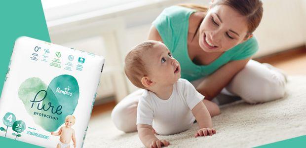 Przetestuj nowe pieluszki Pampers Pure Protection