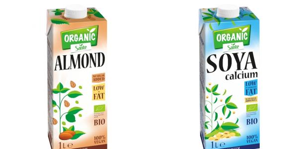 Zamiast mleka - napoje roślinne Sante i Sante Organic
