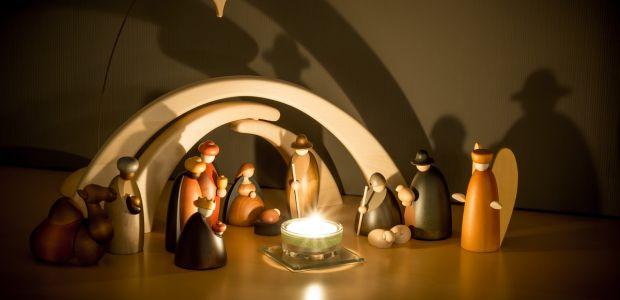 Szopki bożonarodzeniowe: drewniane i do składania [+ szopka INTERAKTYWNA]