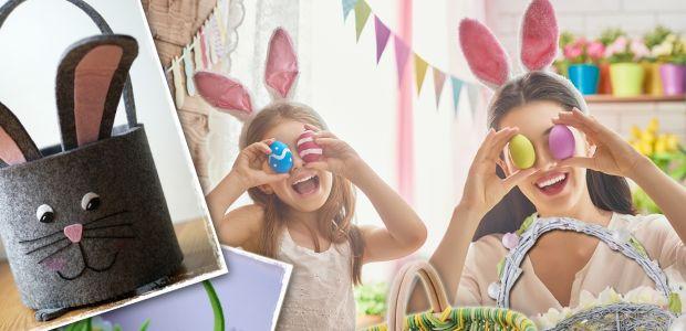 Koszyczek wielkanocny dla dziecka: biały, tradycyjny, nowoczesny (także dla rocznego dziecka)