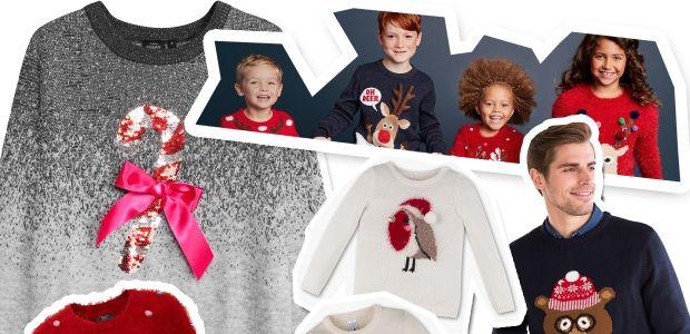 Swetry świąteczne dla rodziny: najmodniejsze motywy na Boże Narodzenie [DLA DZIECI I PAR]