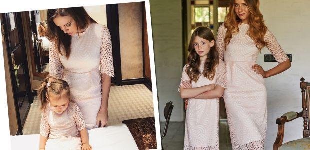 Moda na sukienki dla mamy i córki jest zawsze trendy! Wyjątkowe koronki!
