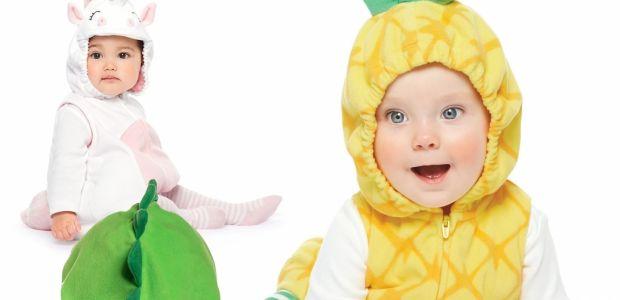 Słodki ananasek, uroczy  jednorożec czy kochany dinuś? Nasz maluch idzie na swój pierwszy bal!