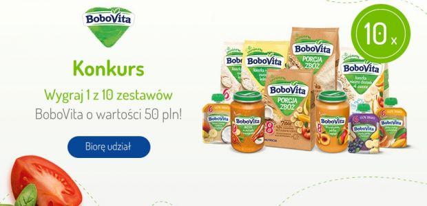 Weź udział w konkursie i wygraj zestaw produktów BoboVita!