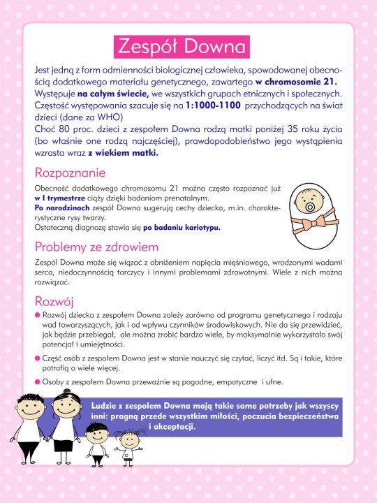 Zespół Downa: jak rozwija się dziecko