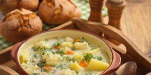 Zupa warzywna z pstrągiem - przepisy dla dzieci