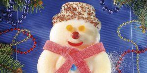 Bałwanek serowy - deser dla dziecka/ przepisy na Babyonline.pl