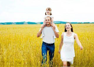 rodzina, spacer