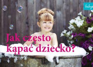 Jak często kąpać dziecko? To zależy od jego wieku! [WIDEO]