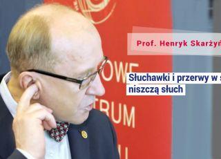 Prof. Skarżyński: Po 15 minutach przerwy w szkole dziecko ma przez 50 minut niedosłuch!