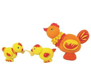 Zabawy dla dzieci: Kurki z masy solnej