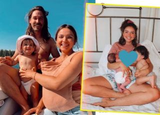 25-latka pokazała, jak karmi piersią dwoje dzieci naraz