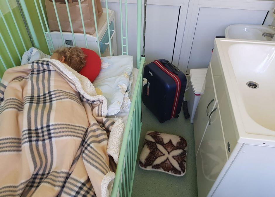 3-letni Borys w szpitalu w Poznaniu