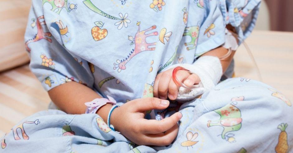 5-letnia Nikola wróciła do szpitala