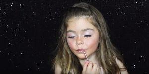 6-latka makijaż