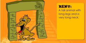 abc zoo, gra dla dzieci, gra online, nauka angielskiego
