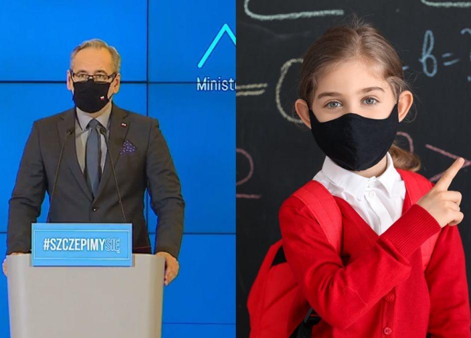 Adam Niedzielski o powrocie dzieci do szkół