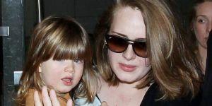 Adele i jej syn