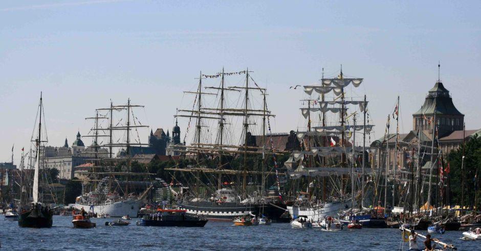 żaglowce, zlot żaglowców w Szczecinie, Tall Ships Races