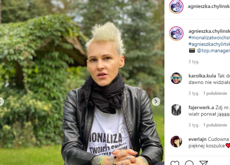 Agnieszka Chylińska o zakazie aborcji