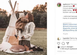 Agnieszka Kaczorowska o miłości do córki
