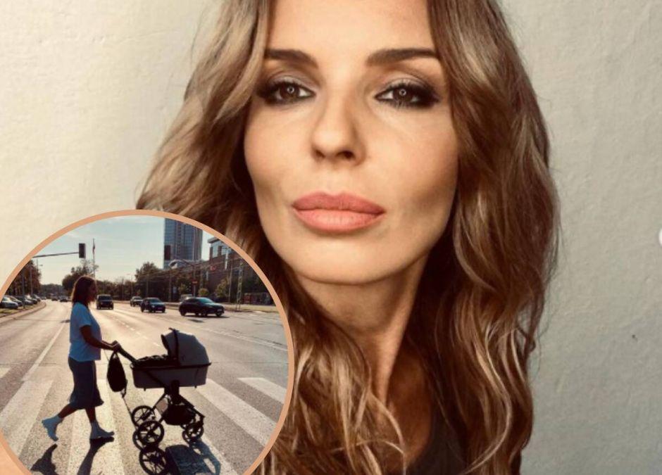 Agnieszka Włodarczyk bała się płaczu dziecka na spacerze