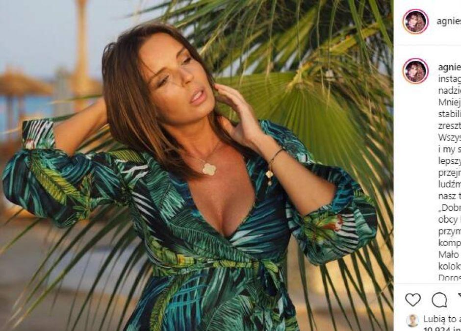 Agnieszka Włodarczyk opowiedziała o problemach z karmieniem piersią