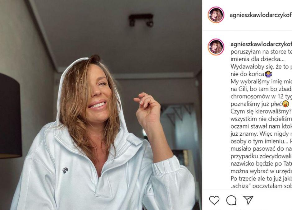 Agnieszka Włodarczyk wybrała imię dla dziecka
