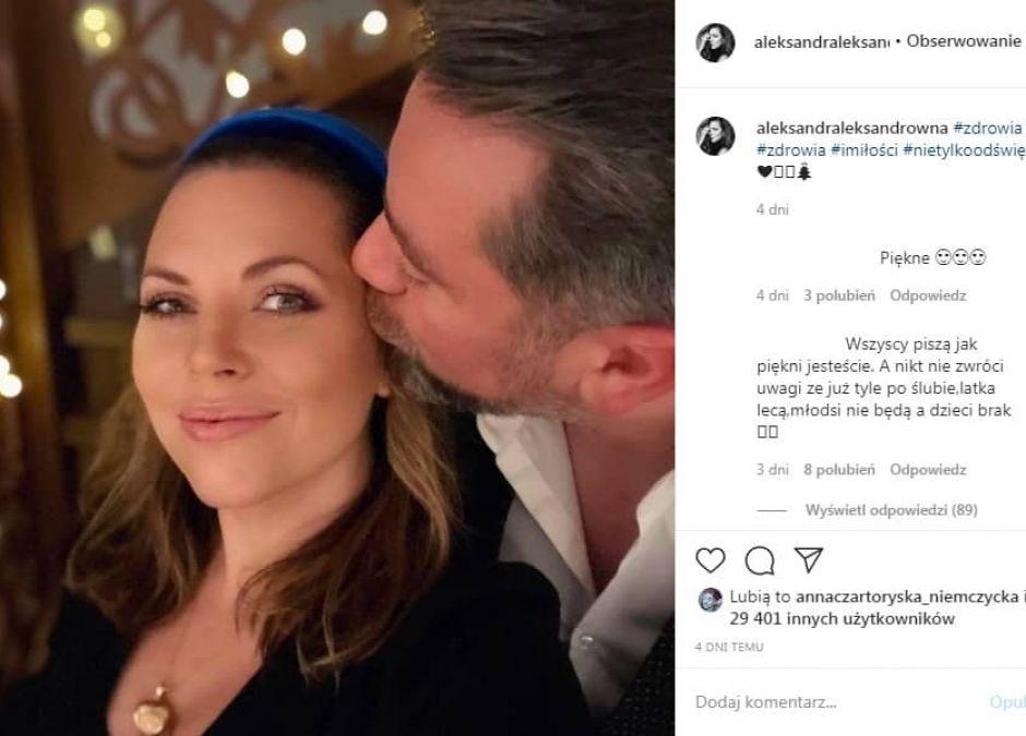 Aleksandra Kwaśniewska znów zmierzyła się z przykrym komentarzem o braku ciąży
