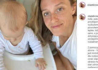 Aleksandra Żebrowska o łączeniu macierzyństwa z pracą
