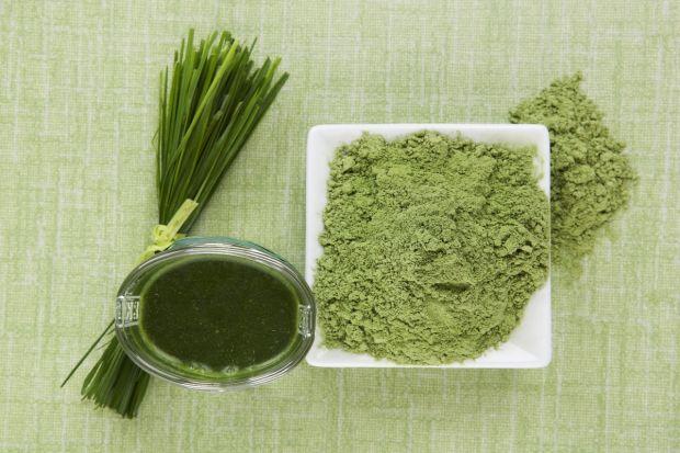 Spirulina - sproszkowane algi
