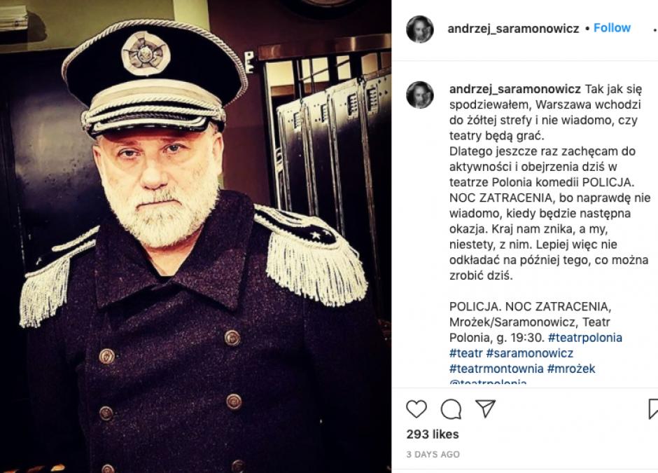 Andrzej Saramonowicz o koronawirusie