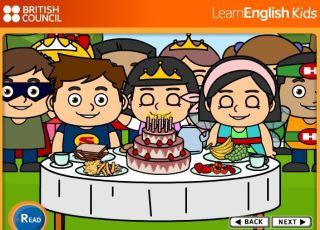 angielski dla dzieci, zabawa dla dzieci, Birthday party, piosenki dla dzieci, nauka angielskiego