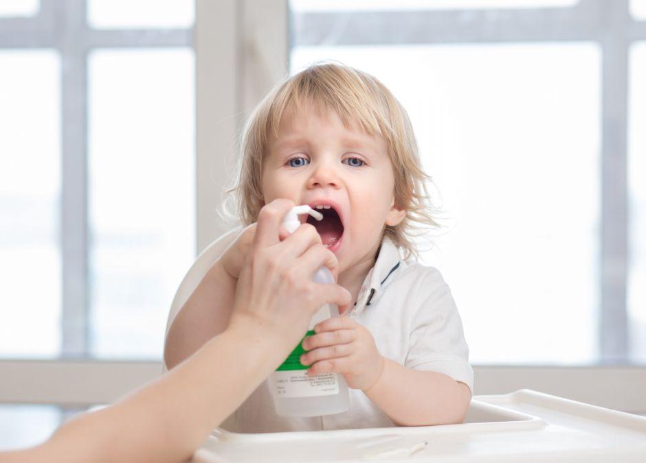 Angina u dziecka