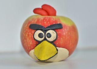 """Angry birds z... jabłka - konkurs """"Mój ulubiony Angry Birds""""/ Babyonline.pl"""