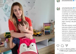 Ania Bardowska nie puści syna do przedszkola