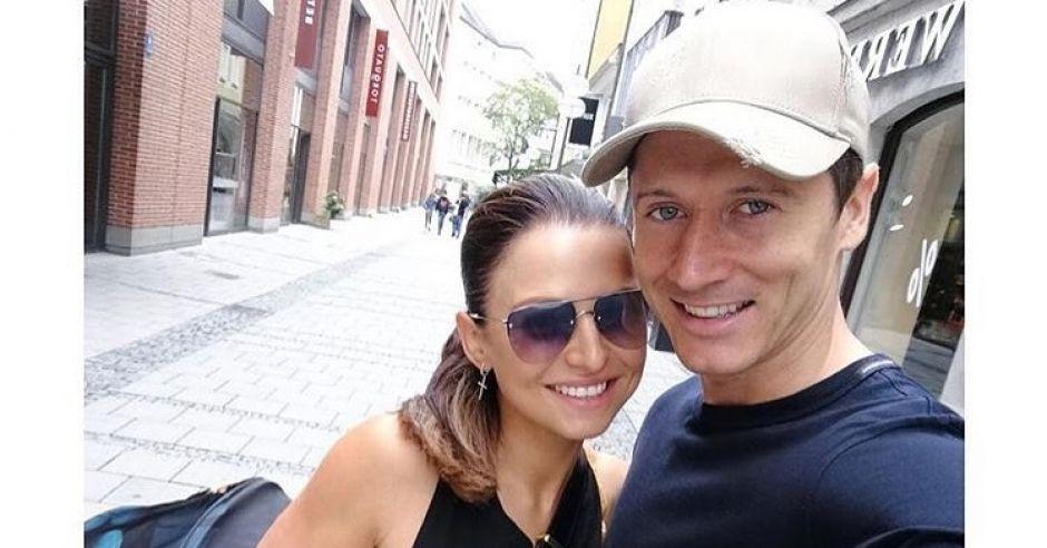Ania i Robert Lewandowscy