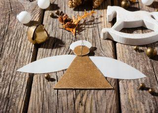 aniołki z papieru