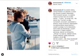 Anna Dereszowska o macierzyństwie