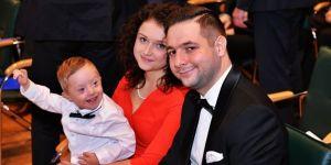 Anna i Patryj Jaki z synem