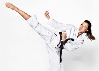 Anna Lewandowska to mistrzyni karate, a Klara...?