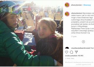 anna przybylska z córką