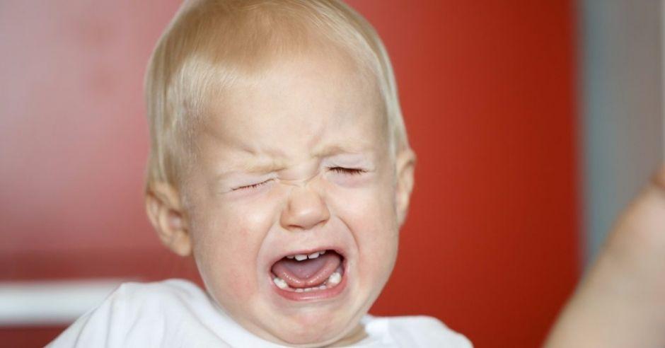 Atak histerii u dziecka