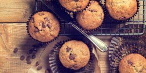 babeczki, muffinki, muffiny, czekolada, ciastka