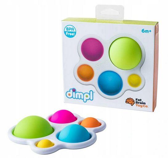 zabawki dla dzieci z autyzmem bąble