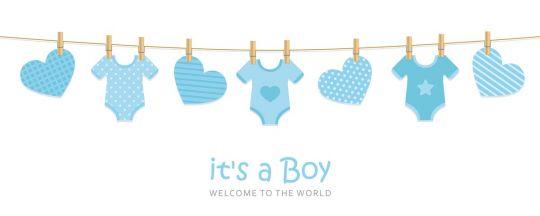baby shower napis do druku chłopiec