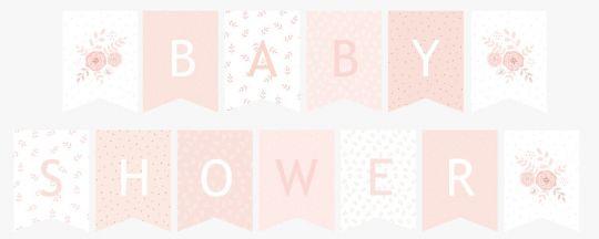 baby shower napis do druku