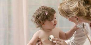 badanie, lekarz, niemowlę