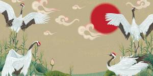 Bajka o żurawiach opowiedziana przez Panią Wieczorynkę