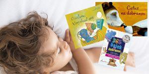 bajki na dobranoc, książeczki do snu, zasypianie